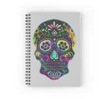 Sugar Skull Spiral Notebook