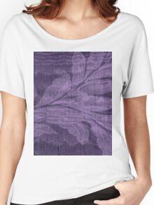 Breezy Purple Women's Relaxed Fit T-Shirt