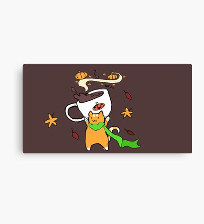 Pumpkin Spice jr Canvas Print