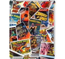 Classic 1950s Science Fiction Poster Collage iPad Case/Skin