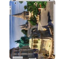 Statue of King Stephen iPad Case/Skin