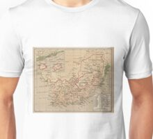 Vintage Map of South Africa (1880) Unisex T-Shirt