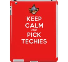 Keep Calm and Pick Techies iPad Case/Skin