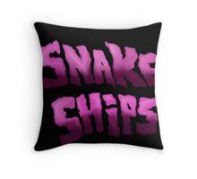 Snake Ships Logo  Throw Pillow