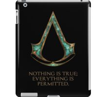 Assassins creed Lexicon mash up iPad Case/Skin