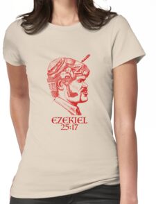 Ezekiel 25:17 The Path of the Righteous Man Womens Fitted T-Shirt
