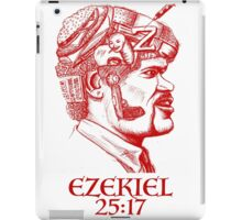 Ezekiel 25:17 The Path of the Righteous Man iPad Case/Skin