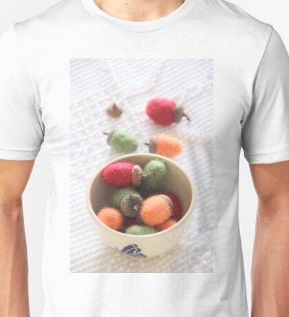 Felted Acorn Season Unisex T-Shirt