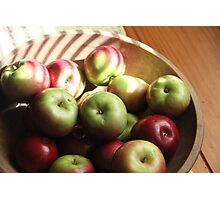 Apple Season Photographic Print