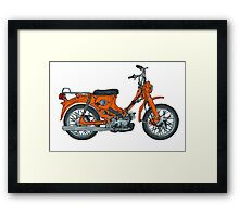 Old Reliable Scooter Framed Print