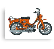 Old Reliable Scooter Canvas Print