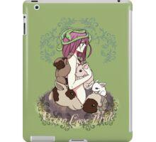 Vegan Love Pride iPad Case/Skin