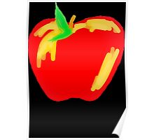 Red Apple Poster