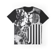 Black And White Chaos Graphic T-Shirt