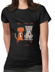 Wear Your Own Skin! Womens Fitted T-Shirt