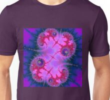 Clustering Spirals Intertwined Unisex T-Shirt