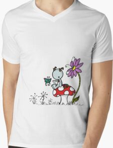 Scuffy the magical creature Mens V-Neck T-Shirt