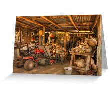The Gourd Shed Greeting Card