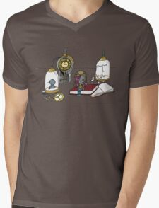 Clockwork Doll Mens V-Neck T-Shirt