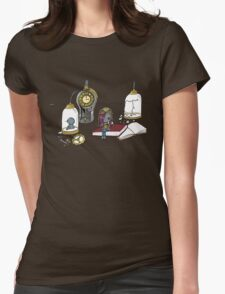 Clockwork Doll Womens Fitted T-Shirt