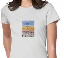 Tamar means palm tree Womens Fitted T-Shirt
