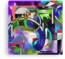 Try To Make Sense Of It All Canvas Print