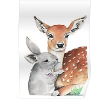 'Bambi and Thumper' Poster