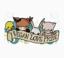 Vegan Love Pride Kids Clothes