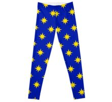 Captain Marvel Star Print Leggings