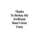 Thanks To Hockey My Girlfriend Has't Gone Crazy  by supernova23