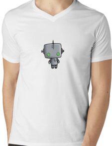 Adorable Robot Mens V-Neck T-Shirt