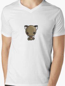 Sabertooth Love Mens V-Neck T-Shirt