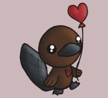 Platy Platypus and a Balloon by reloveplanet