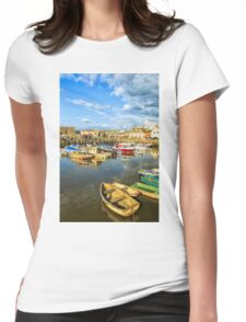 West Bay, Dorset, UK Womens Fitted T-Shirt