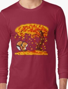 Fox in the Fall Long Sleeve T-Shirt
