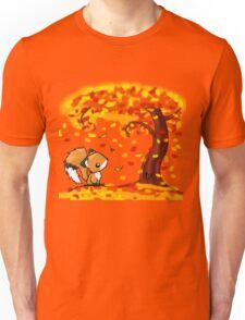 Fox in the Fall Unisex T-Shirt