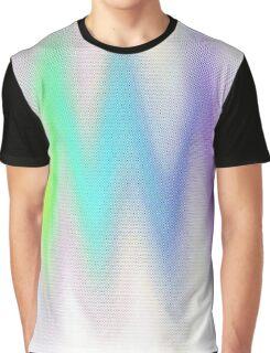 Aurora Wave Graphic T-Shirt