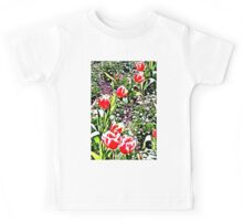 Tulips - Floral Collection Kids Tee