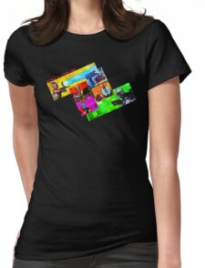 Welcome to Castle Anorak Womens Fitted T-Shirt