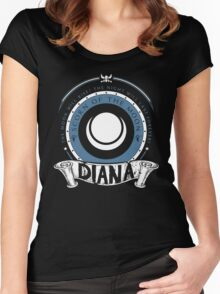 Diana - Scorn of the Moon Women's Fitted Scoop T-Shirt