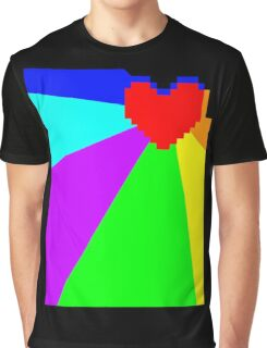 Pacifist Heart Graphic T-Shirt