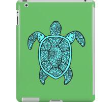 turtle blue  iPad Case/Skin
