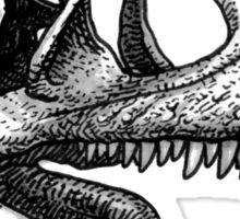 Cryolophosaurus Sticker
