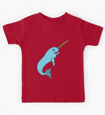 LITTLE NARWHAL Kids Tee