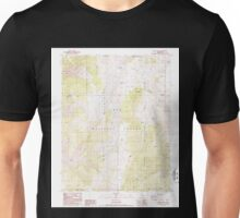 USGS TOPO Map California CA Blanco Mountain 299948 1987 24000 geo Unisex T-Shirt