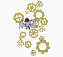 SteamPunk Bat Kids Tee