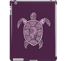turtle purple  iPad Case/Skin