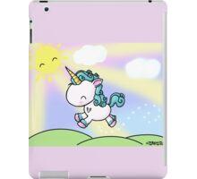 Prancing Unicorn iPad Case/Skin
