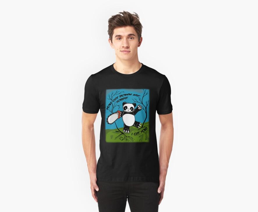 Chainsaw Panda by Bianca Loran
