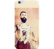 Wooden Man iPhone Case/Skin